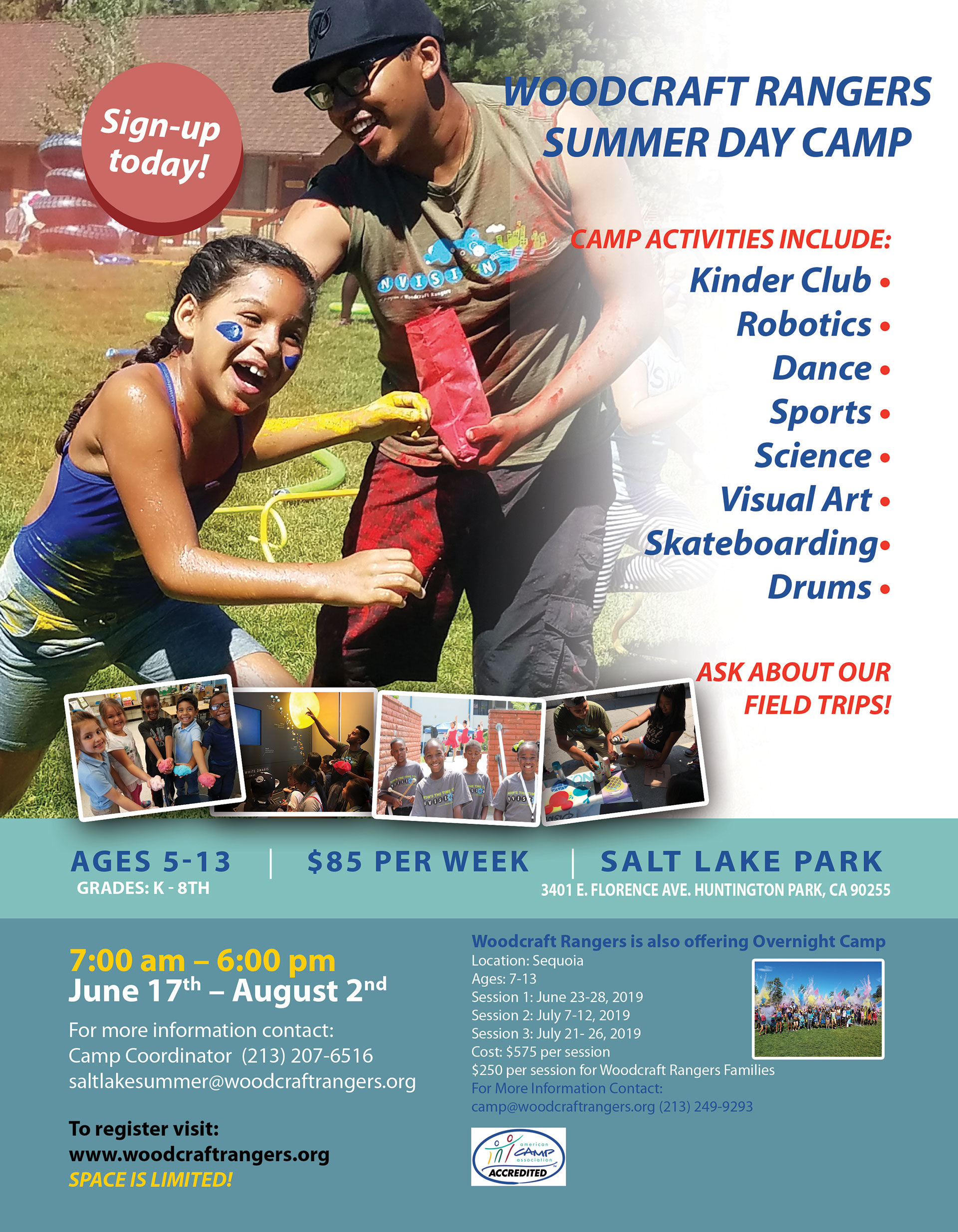 Summer Day Camps for Kids in Los Angeles, CA | Woodcraft Rangers